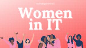 "graphic reading ""women in IT"""